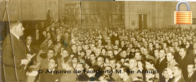 Visita a S. Vicente de Fora - o público