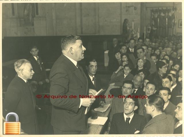 Visita guiada a S. Vicente de Fora, Março de 1939
