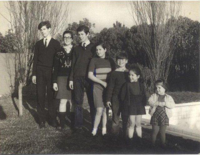Seus netos filhos de sua filha Gaby e do Engº Fernando França Pereira