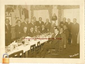 Almoço DL Adega Mesquita13 Nov.  1948 Med. de Ouro da Cidade
