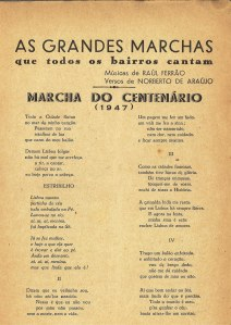 marcha centenario