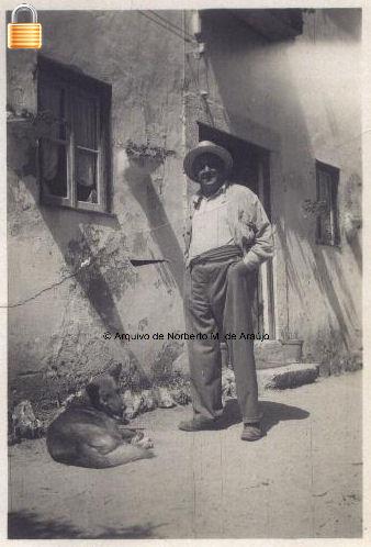 Norberto de Araújo no Outeiro, na Caparica